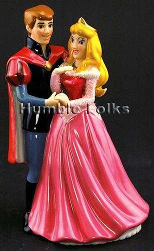 Sleeping Beauty Disney Wedding Cake Topper
