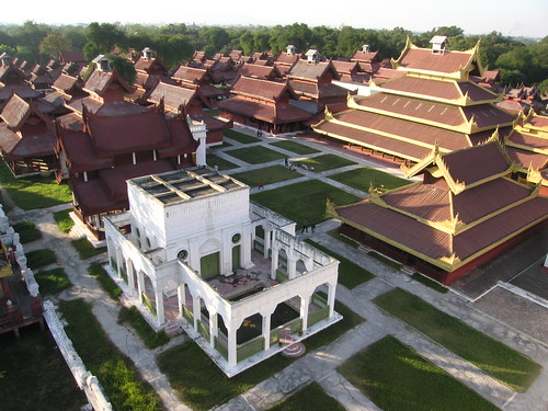 Old Royal Palace - Mandalay, Myanmar (Burma)