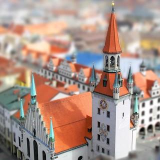 altes rathaus im kleinen münchen