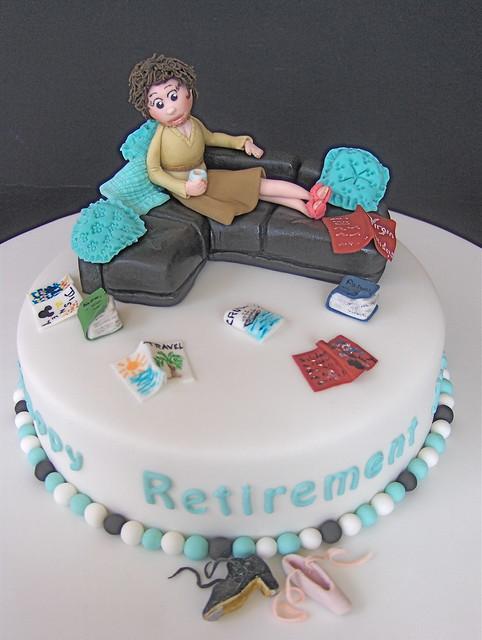 Retirement Cake Flickr Photo Sharing