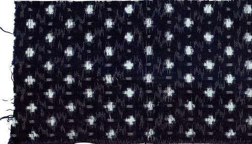 Old Fabrics - indigo kasuri