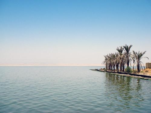 blue lake water palms desert egypt elfayoum fayom qaroun prinzesabg