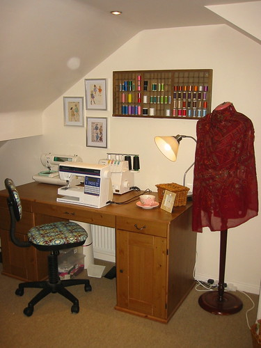 Sewing area