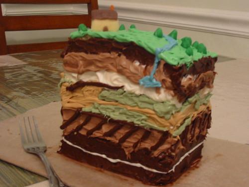 """Geology"" Cake"