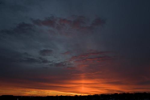sunset sun pretty