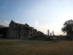 Panama Viejo ruins.