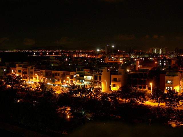 Mahape by night - 1, Navi Mumbai, India | Flickr - Photo Sharing!