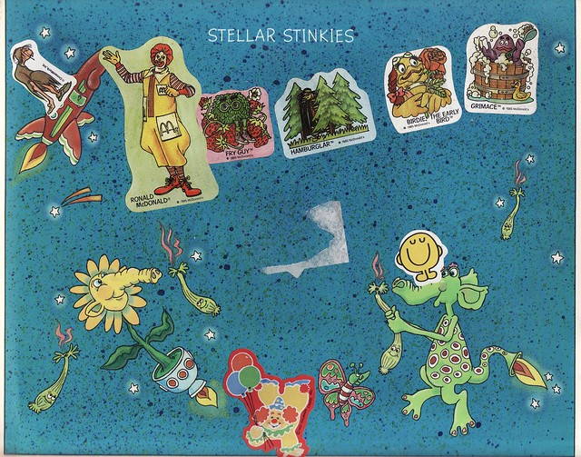 My Out-Of-This-World Sticker Collection, 1984