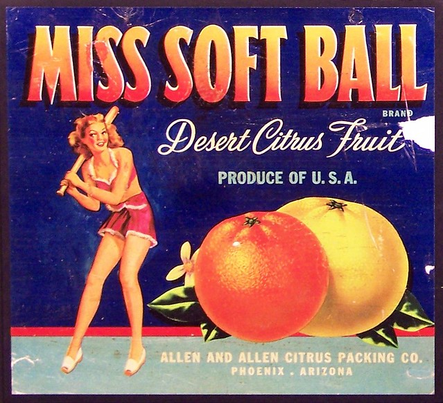 Miss Soft Ball, 1940s