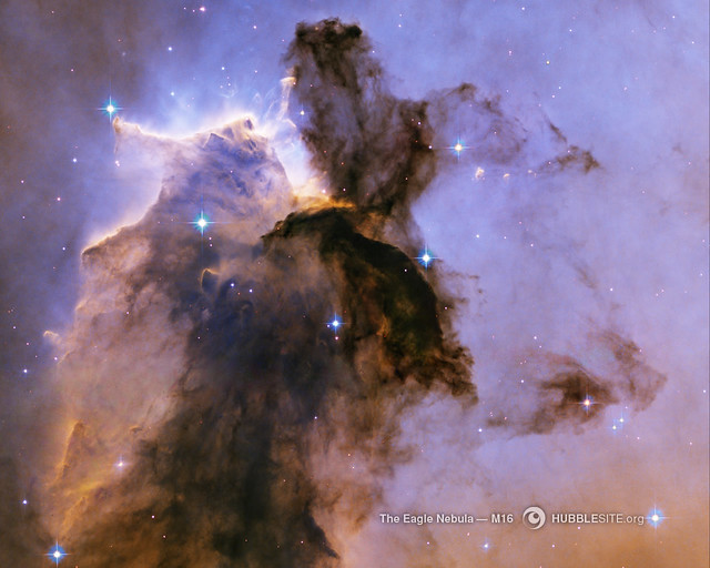 The Eagle Has Risen, Stellar Spire in the Eagle Nebula