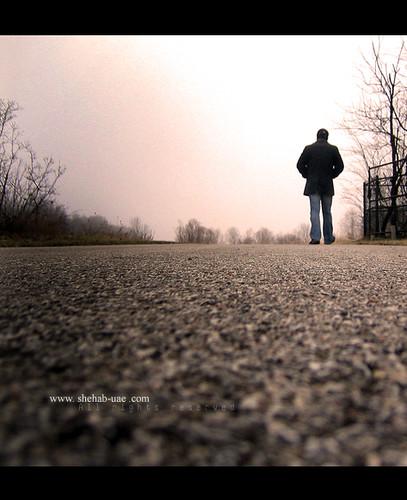 Walking Away ...., Canon POWERSHOT SD100