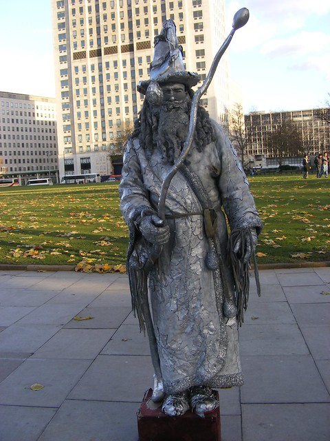 Living Statues: Wizard | Flickr - Photo Sharing!