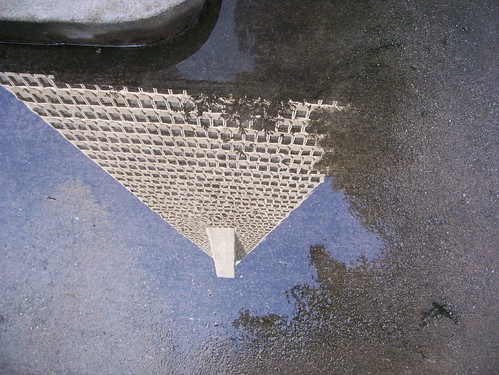 Pyramid in a puddle