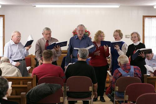 Joe Beasley Memorial Singing, December 8, 2007