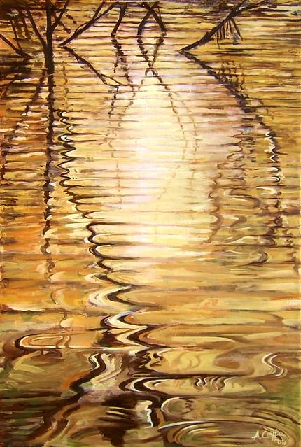 Riflessi nell'oro liquido