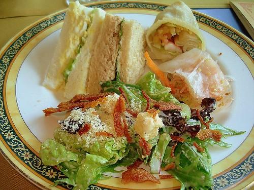 British tea sandwiches for Club sandwich fillings for high tea