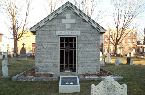 Le mausolée Montcalm