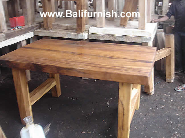 Big table 6 dining table wood outdoor flickr photo sharing