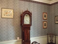 furniture, wood, room, longcase clock, interior design, antique, clock,