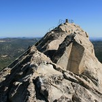 The summit of Stonewall Peak.  Cuyamaca Rancho State Park