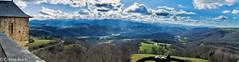 Vue Panoramique depuis le chateau de Mauvezin
