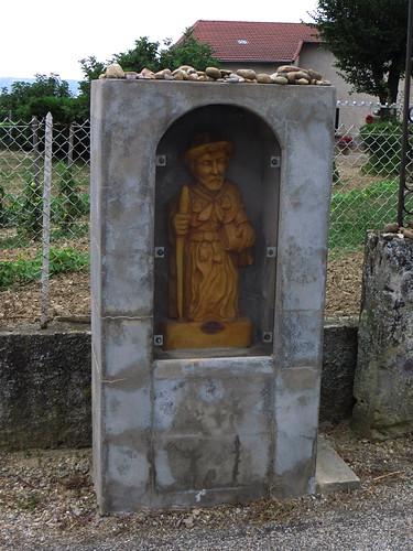20130819 11 037 Jakobus Hällchen Pilger Santiago Statue