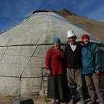 Yurt in the High Pastures - Song Kul, Kyrgyzstan