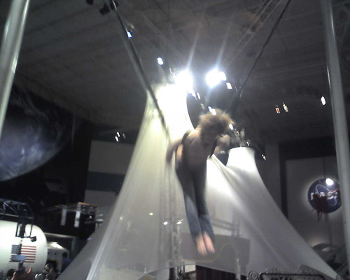 monica on flippy bounce