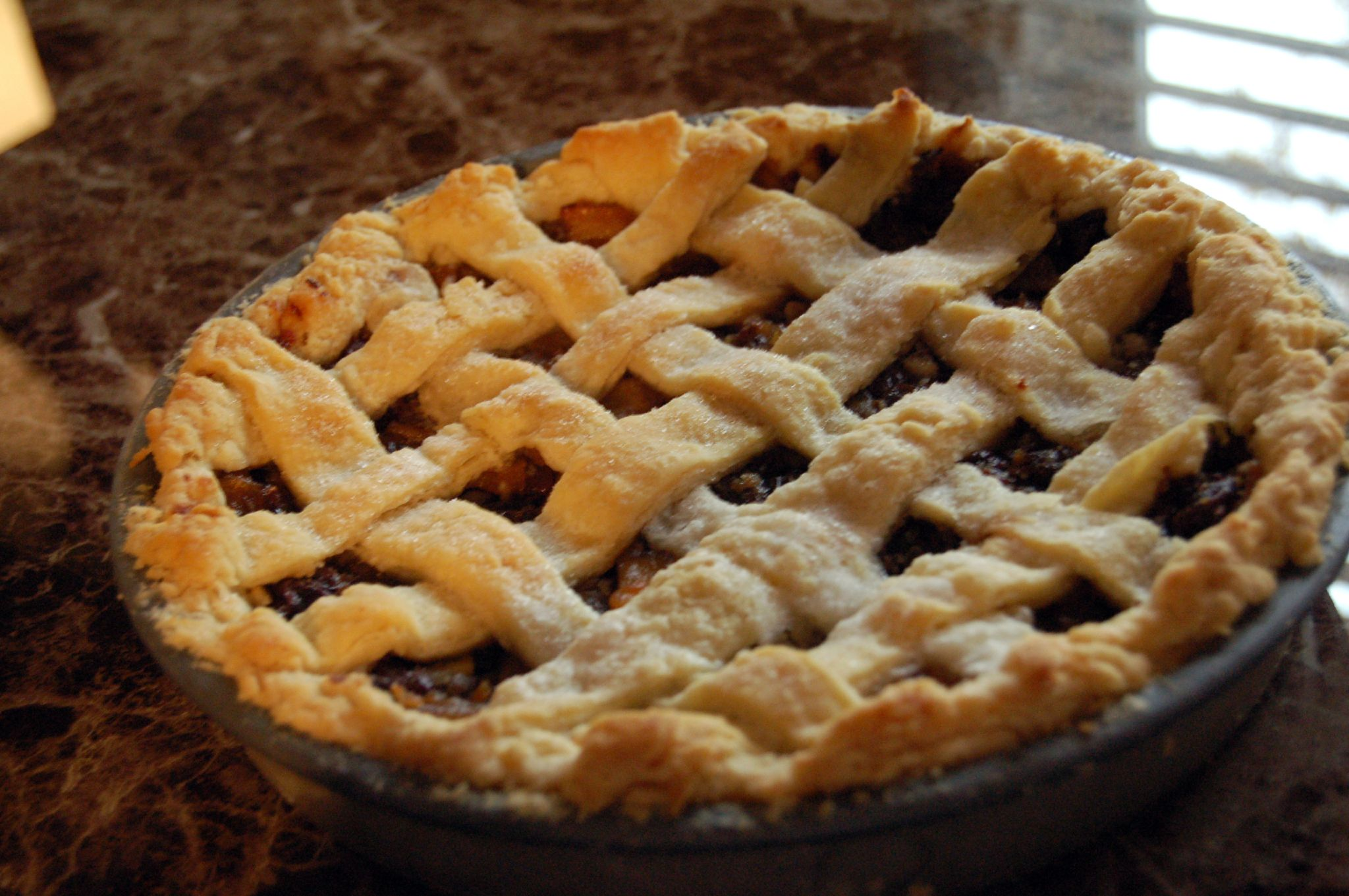Our homemade (mock) mincemeat pie   Flickr - Photo Sharing!
