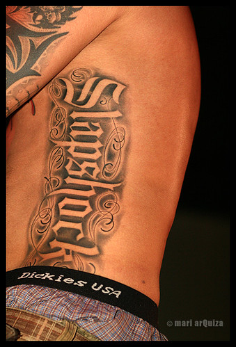Slapshock tattoo on Jamir | Flickr - Photo Sharing!