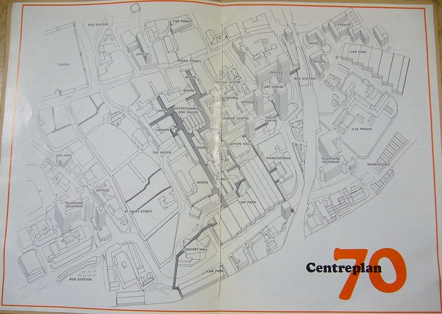 Map of Centreplan