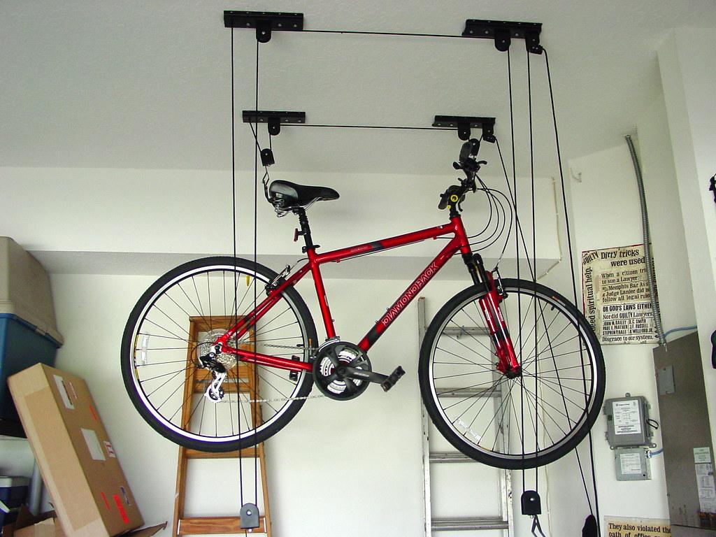 ceiling mounted bike rack bike rack 20 bicycle tires. Black Bedroom Furniture Sets. Home Design Ideas
