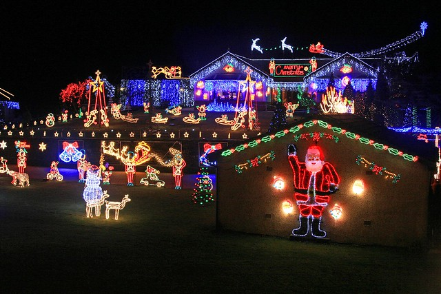 Christmas Lights - Coalburn
