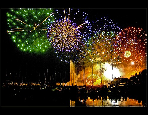 Happy new Year ! / Genève Fireworks (Augost11,2007)