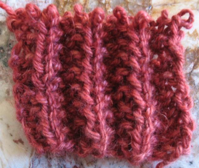 Knitting Stitch Mistake Rib : Mistake-Stitch Ribbing swatch Flickr - Photo Sharing!