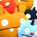 Ugly Dolls Deer Ugly + Ice-Bat +  Abima + Gato Deluxe