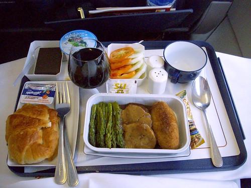 druk air business class meal