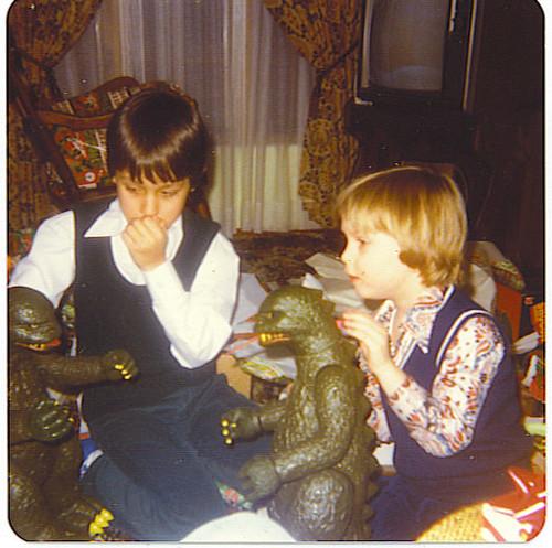 Christmas 1978 godzillas