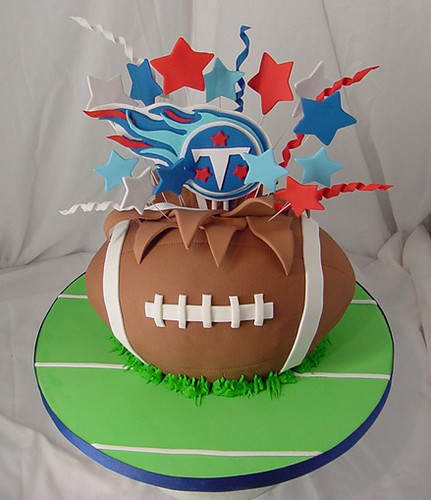 Tennessee Football Cake For Boys