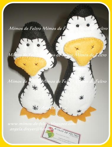 Pingus.... by ♥ Mimos de Feltro by Angela Mary® ♥
