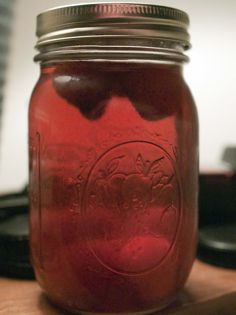Strawberry-infused moonshine. | Amazing stuff made by ...