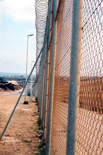 a barrier, a long barrier