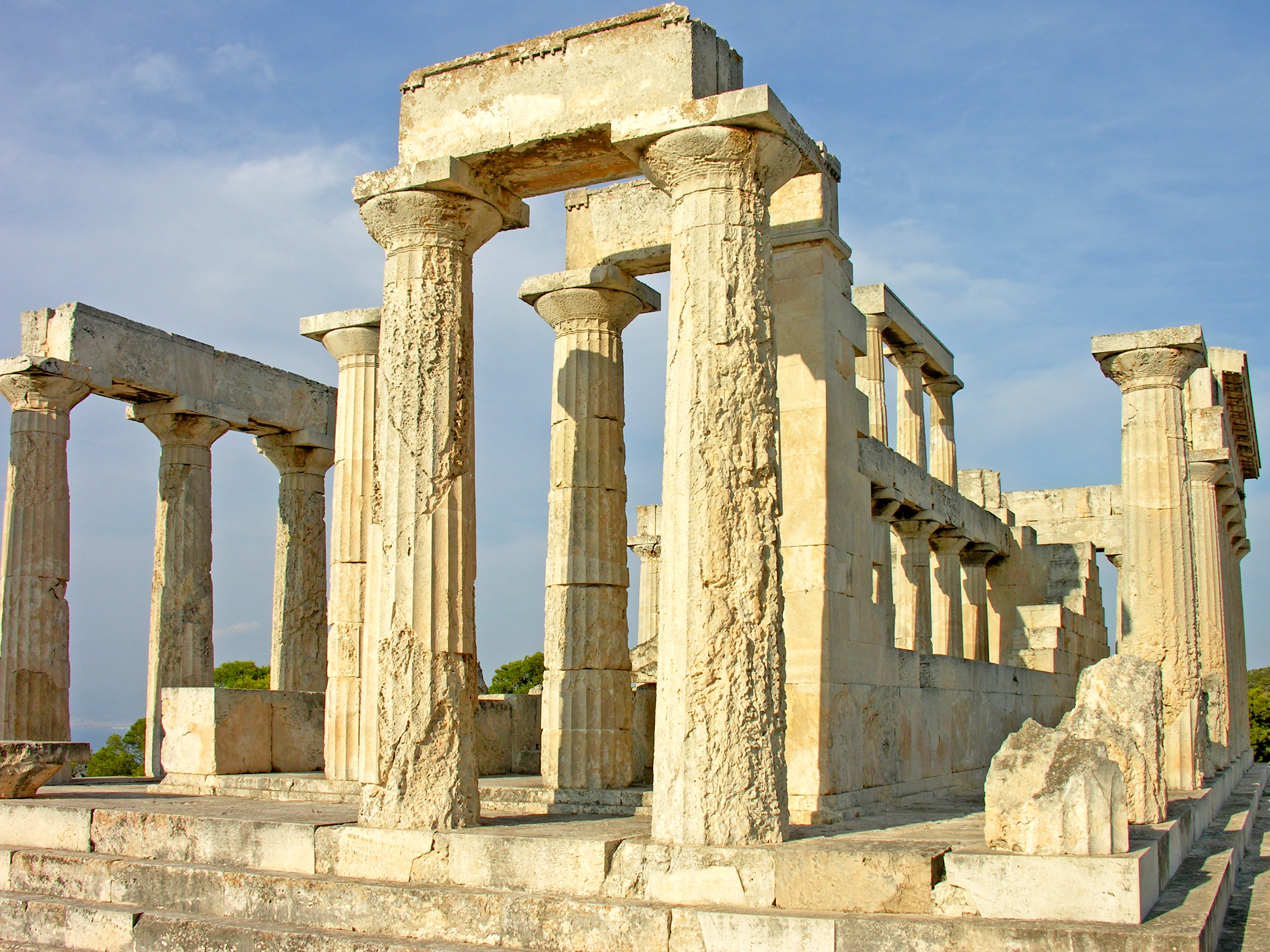 Greece-1178 - Temple of Aphaia  Flickr - Photo Sharing!