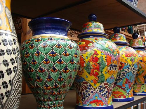 artesanias mexicanas jarrones