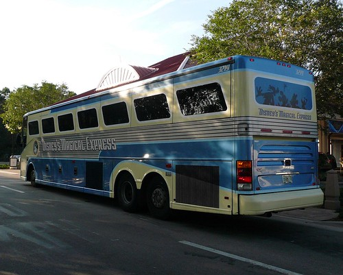 Disney Magical Express Bus