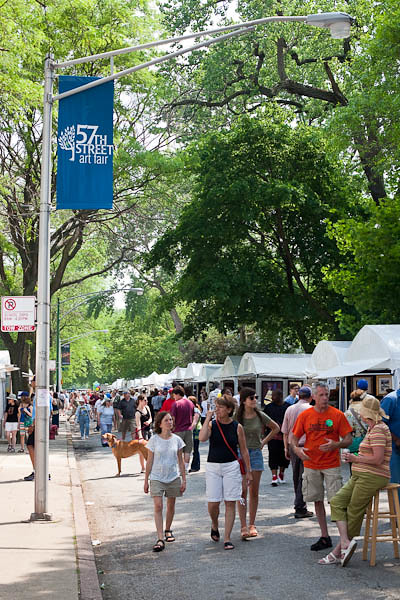 The Hunt for Art at the 57th Street Art Fair Hyde Park, Chicago