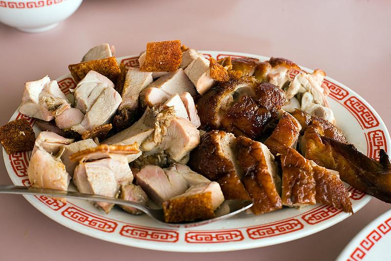 Roast Duck and Roast Pork