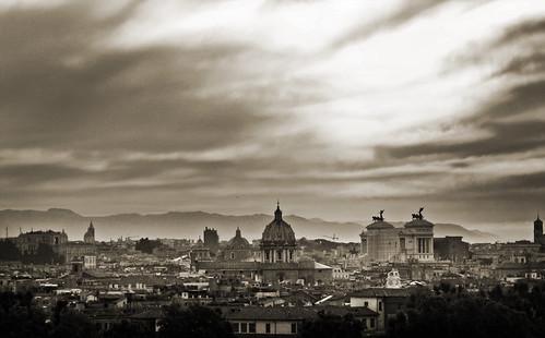Panorama dal Gianicolo