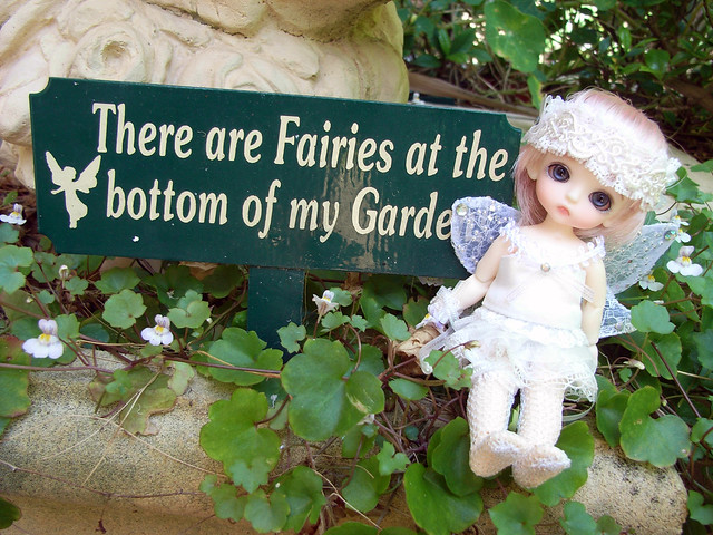 There are fairies at the bottom