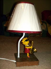 Lisa Simpson Night Lamp  ~  $20.00